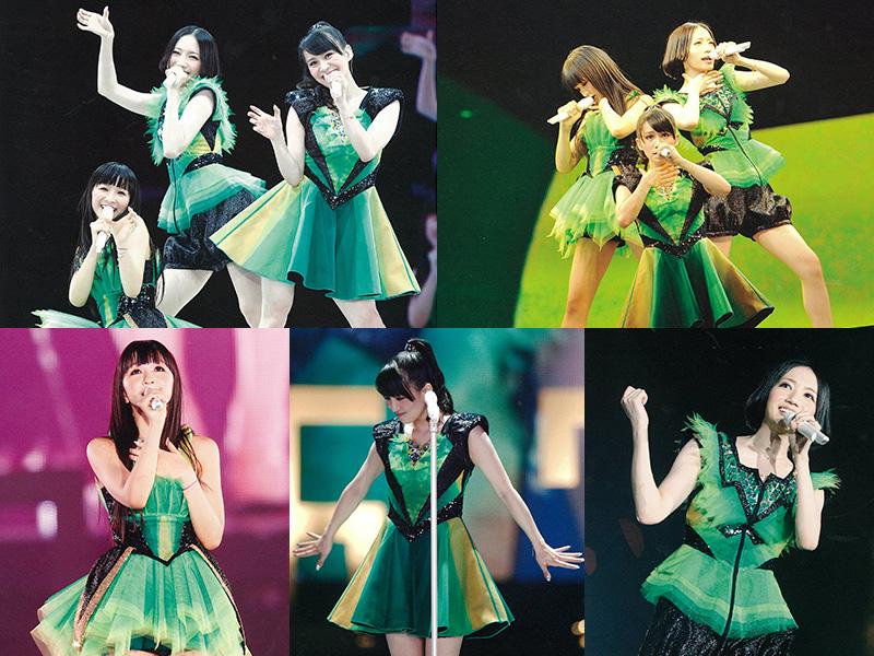 Perfume LIVE @東京ドーム「1 2 3 4 5 6 7 8 9 10 11」 着用衣装