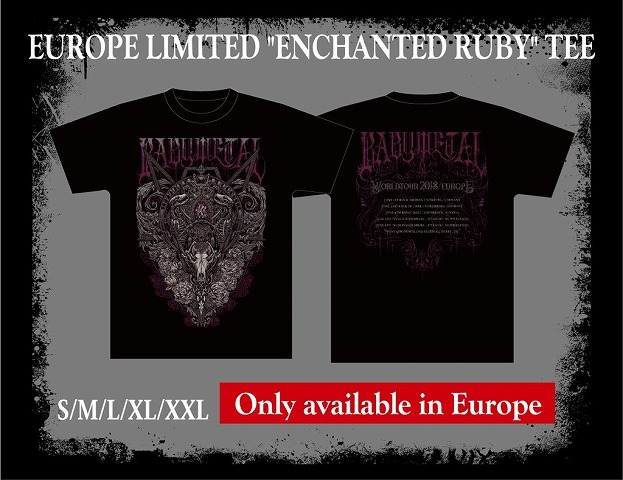 "EUROPE LIMITED ""ENCHANTED RUBY"